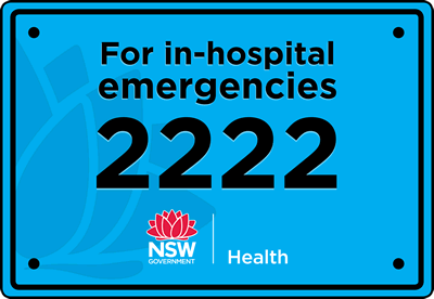 For in-house emergencies dial 2222